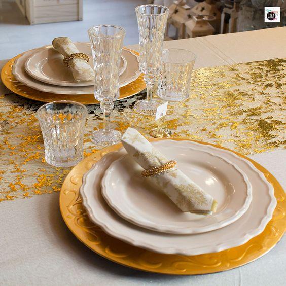 La mia tavola di Natale dorata · Pane, Amore e Creatività