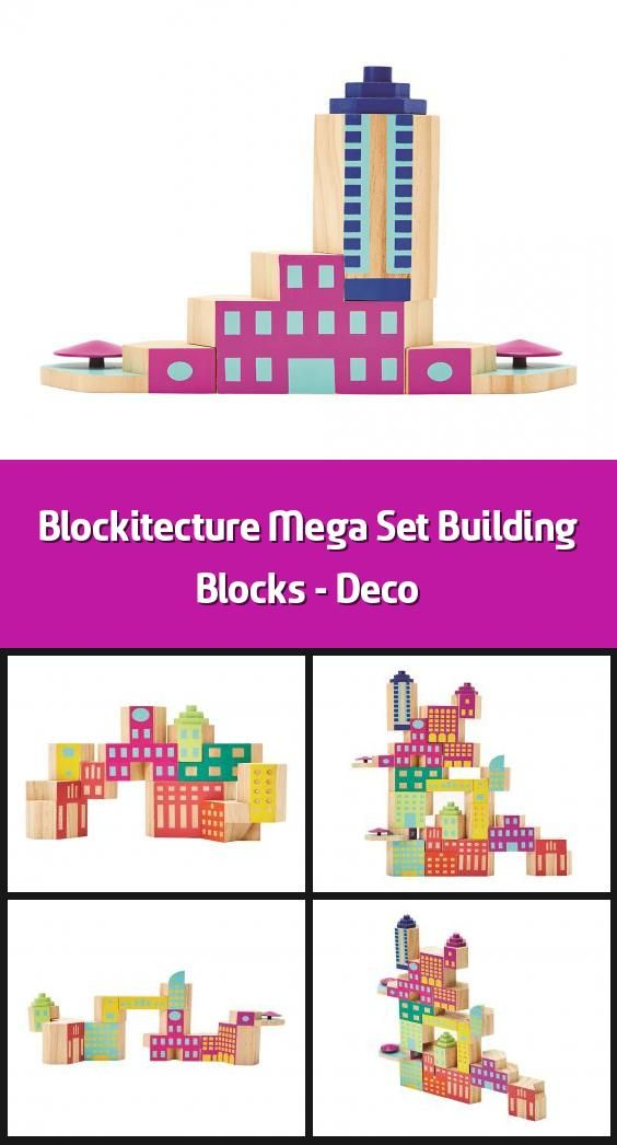 Blockitecture Mega Set Building Blocks Deco Building Blocks