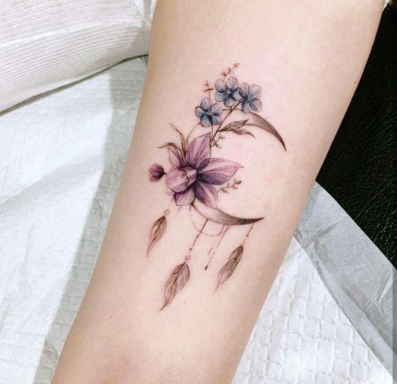287 Tatuajes De Flores Para Mujer Fotos Significado