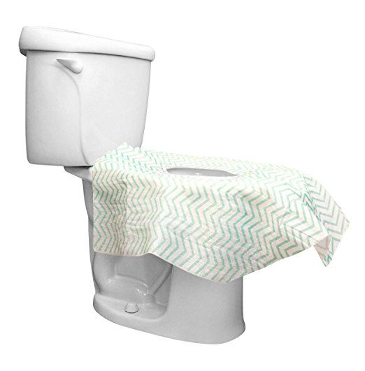 Toilet Seat Covers Disposable Potty Seat Covers Larger 26 X26