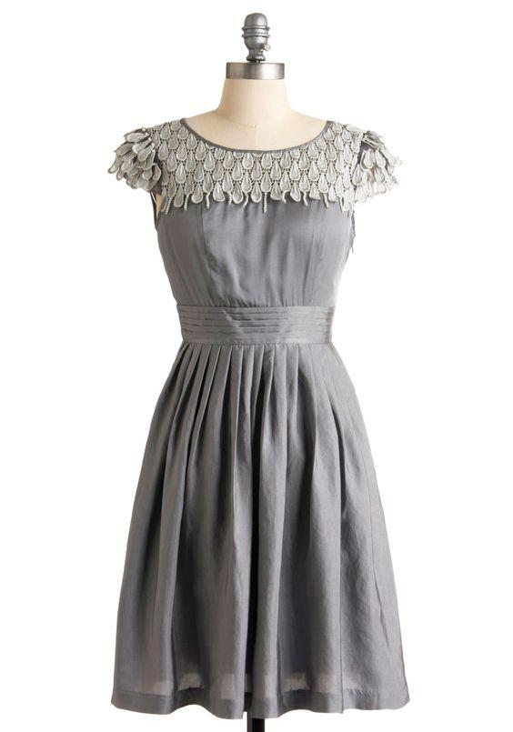 Pearl Snow Petal Dress