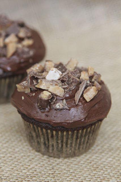 Heath Bar Cupcakes