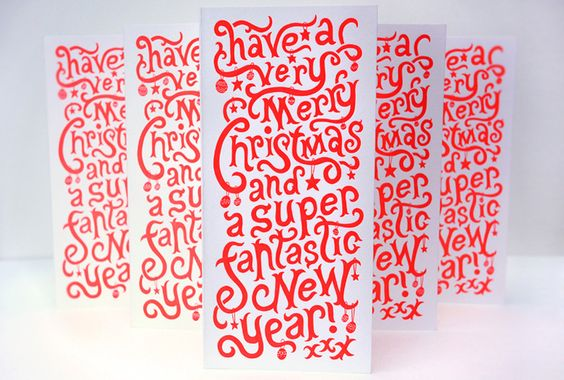 Superfantastic Holiday Card      PRODUCTION METHOD  Letterpress    DESIGN  Superfantastic      PRINTING  Blush