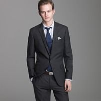 black suit, navy tie | i do i do i do | Pinterest | Suits, Black