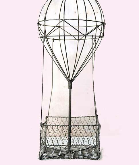 mongolfière decoration | Montgolfière vintage. Pièce maîtresse de l