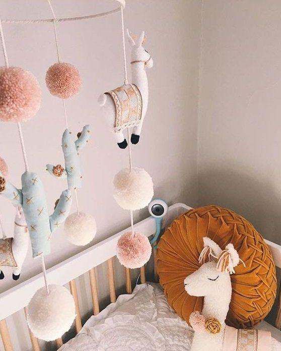 35 Ideas For A Gorgeous Boho Inspired Nursery Baby Room Design Girl Nursery Nursery