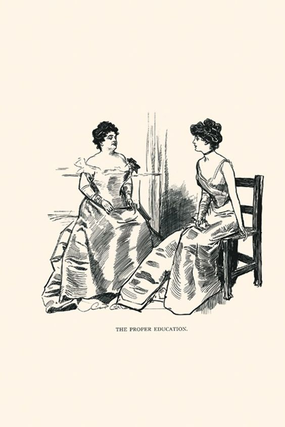 The Proper Education, by Charles Dana Gibson
