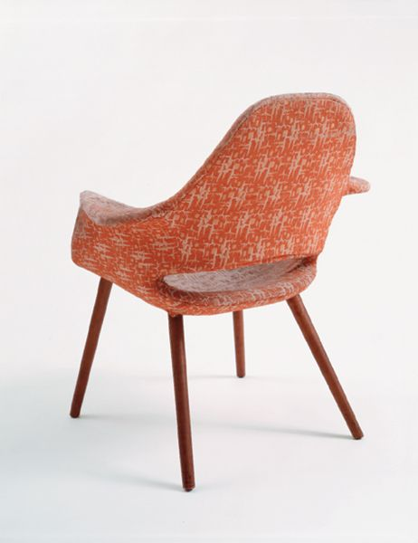 """""""Conversation"""" Arm Chair from the Museum of Modern Art 'Organic Design Competition 1941', Manufactured by Haskelite Corporation/Heywood-Wakefield, Designed by Charles Eames and Eero Saarinen, 1940"""