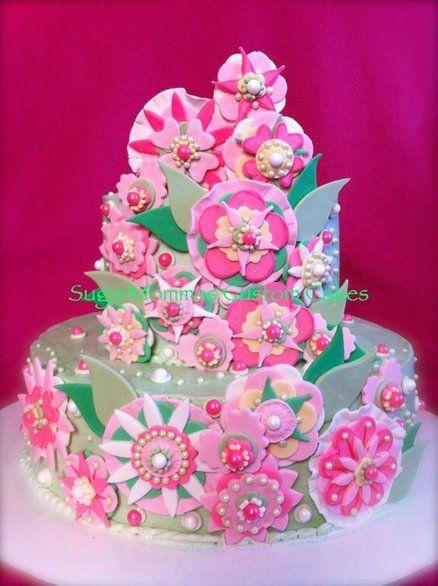 Vera Bradley Inspired Birthday Cake