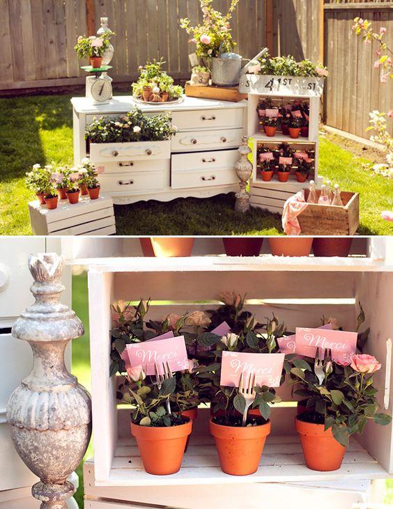 adorable favors! french garden theme