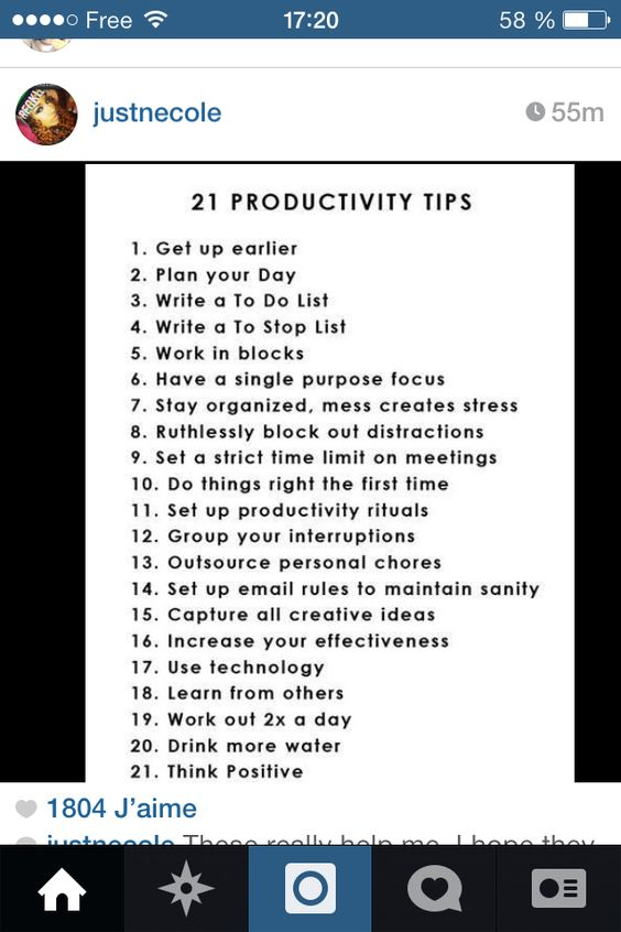 Productive tips