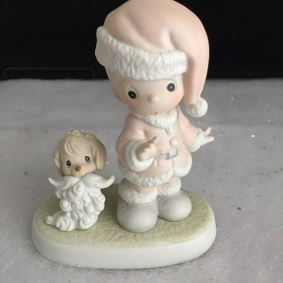 Wishing You A Ho Ho Ho Santa w//box Precious Moments Figurine pm 527629