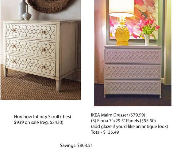 Ikea malm dresser ikea malm creativity pinterest for Designelemente wohnung