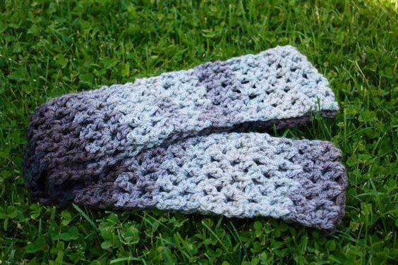 Crochet Infinity Scarf,All Season Infinity Scarf, Crochet Scarf, Crochet Multicolour Scarf, Grey Infinity Scarf on Etsy, $42.23 CAD