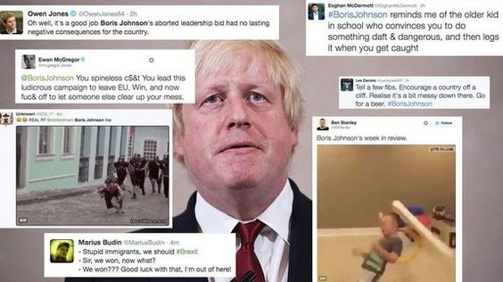 Twitter explodes with memes in response to Boris Johnson news checkout Vod24hr.com