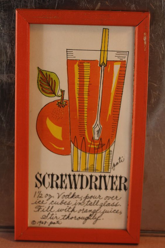 Screwdriver   I have a bunch of these, such a great Idea!