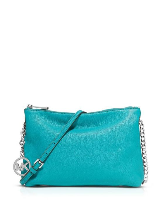Michael Michael Kors Crossbody - Jet Set Chain Top Zip Messenger