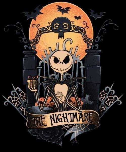 Jack Skellington Playing Card T-Shirt Halloween Pumpkin King Men/'s T-Shirts