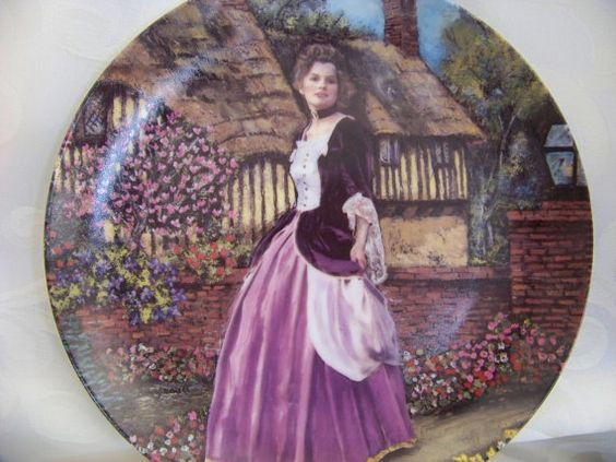 Free Shipping Collectors Plate Lisa Caroline by HopeisHipofMaine