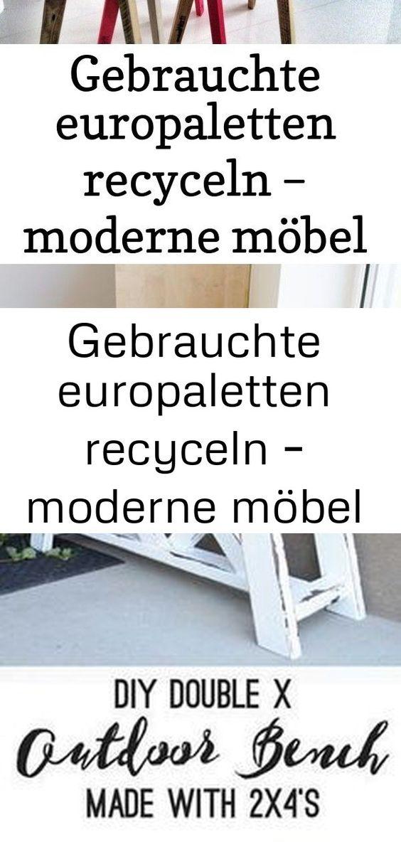 Gebrauchte Europaletten Recyceln Moderne Mobel Aus Palettenholz Pallets Sofa Woodpallets Diy Ideen Holzpaletten Selberbauen Diy Sideboard Mit Sitzbank