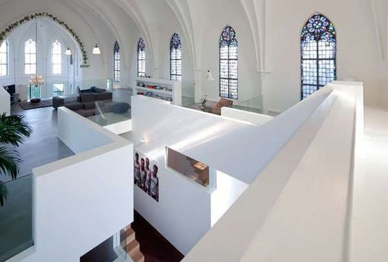 Zecc Architects Makes Old Church a Home With a Few Altarations