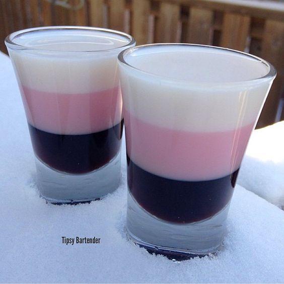 White Chocolate Godiva Shots