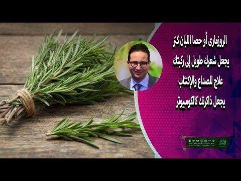 الروزمارى أو حصا اللبان كنز يجعل شعرك طويل إلى ركبتك علاج للصداع والإكتئاب يجعل ذاكرتك كالكومبيوتر Youtube Health Herbs Rosemary