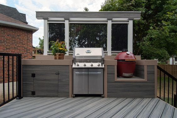 Cooking we and the o 39 jays on pinterest for Metal privacy screens for decks