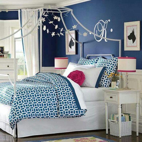 pink bedrooms dark blue bedrooms bedrooms ideas girl rooms teen girl