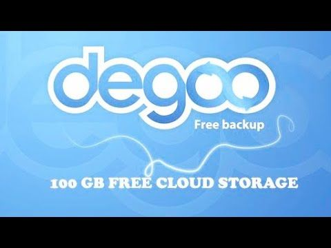 Degoo Cloud Storage Tutorial In 2020 Free Cloud Storage Cloud Storage Clouds