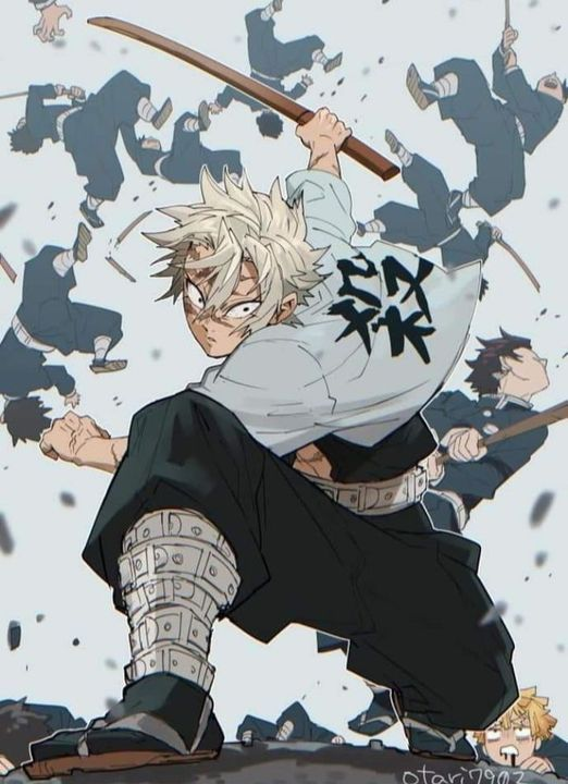ảnh đẹp Sanemi Genya Anime Demon Demon Slayer