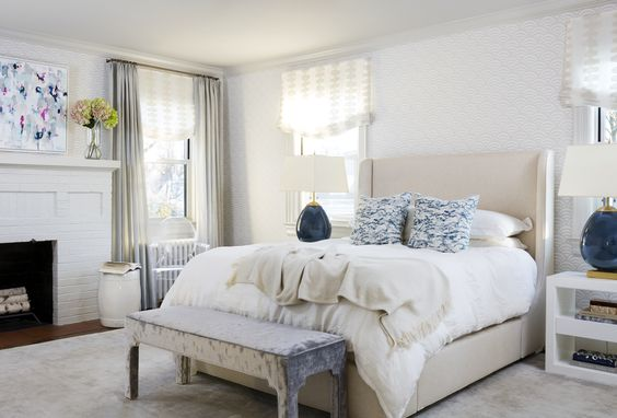 Ella Scott Design | Modern Cottage | master bedroom