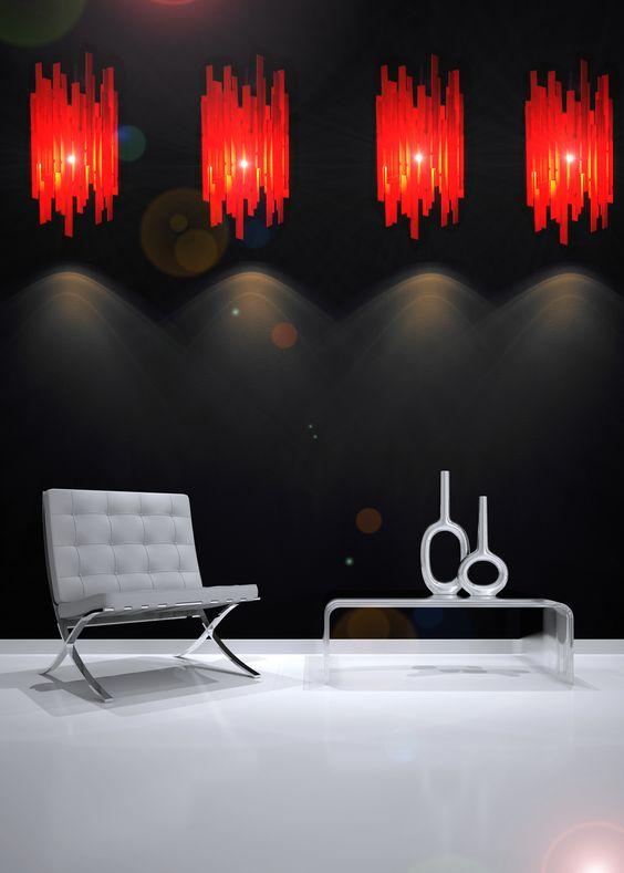 www.artmaker.be présente l'Abat-jour Louis Plexi Orange ... #deco #decoration #design #art