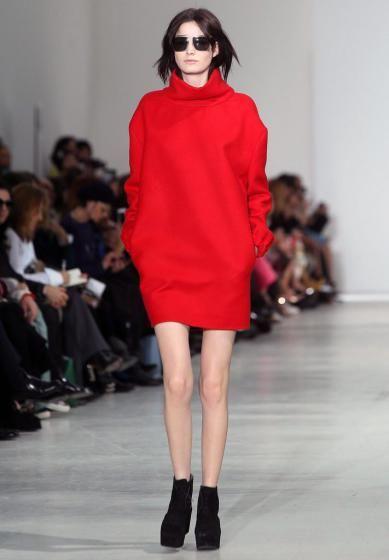 Fashion-Week Mailand: Prada Show. Mehr zu den Trend aus Mailand: http://www.nachrichten.at/nachrichten/society/Top-oder-Flop-Die-ersten-Trends-aus-Mailand;art411,1313693 (Bild: EPA)