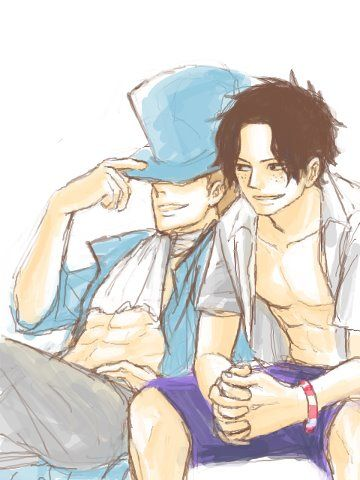 Sabo & Portgas D. Ace - One Piece,Anime