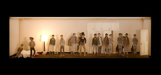 Orpheus & Eurydike (Bühne) - Stagedesign / Bühnenbild