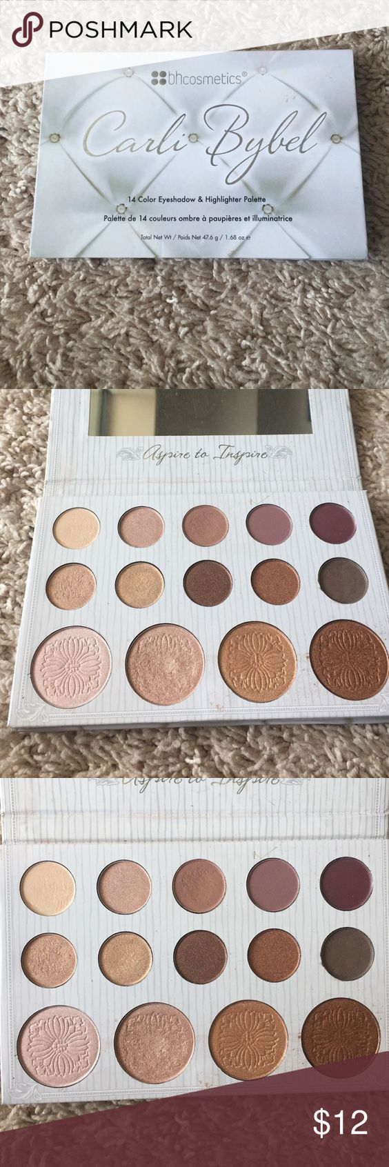 bhcosmetics Carli Bybel palette I've only used this palette 2 maybe 3 times. I really enjoyed it, I just don't find myself reaching for it as much as I would like. bhcosmetics  Makeup