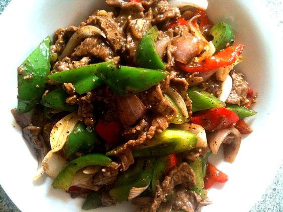 Thumbs up yummy - 38件のもぐもぐ - Stir Fry Sliced Beef with Bell Pepper by Shiroi Yuki