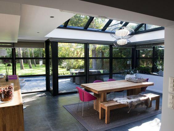Glazen Aanbouw Keuken : ipv onze keuken en veranda – uitbouw Pinterest – Veranda's, Met en