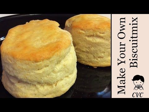 Collard Valley Cooks Homemade Biscuit Mix Recipe For Fast Fluffy Buttermilk Biscuits Youtube Homemade Biscuit Mix Biscuit Mix Homemade Biscuits