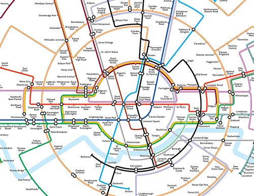 tube map central circular Google Search – Tube Map Central London