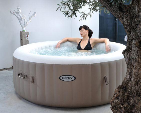 Pure Spa Aufblasbarer Whirlpool Intex 120 Spa Pools Whirlpool