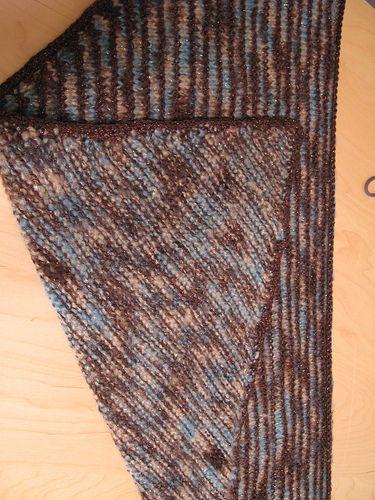 Ravelry: Shimmery Shawl for Grandma pattern by Kelly Schneider