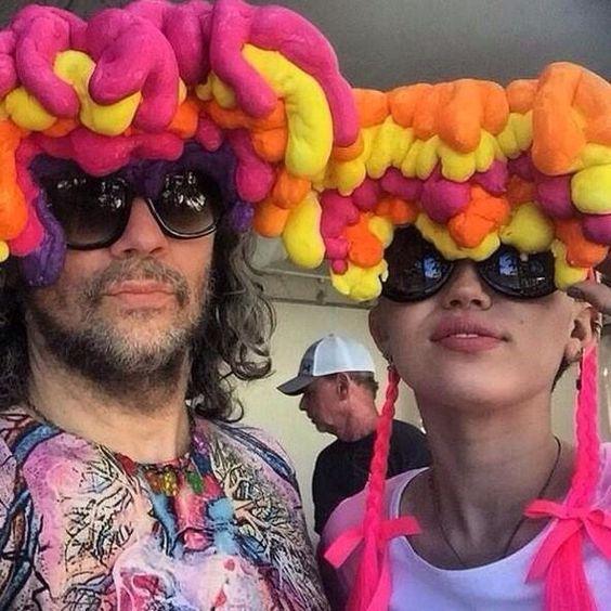 Miley and Wayne Coyne!