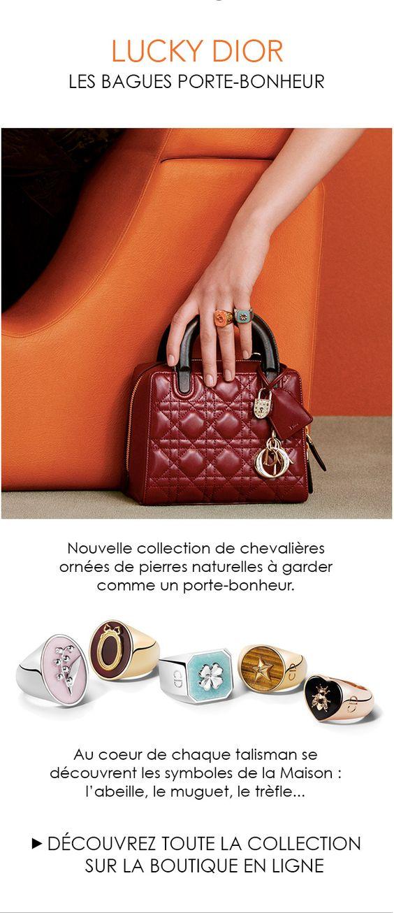 Lucky Dior, les chevalières