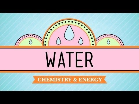 Hank teaches us why water is one of the most fascinating and important substances in the universe.    Follow SciShow on Twitter: http://www.twitter.com/scishow  Like SciShow on Facebook: http://www.facebook.com/scishow    Review:  Re-watch = 00:00  Introduction = 00:42  Molecular structure & hydrogen bonds = 01:38  Cohesion & surface tension = 02:46  Adhe...