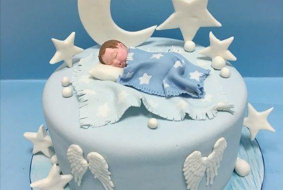 25 Tartas Para Bautizo Para Nenes Bebeazul Top Christening Cake Cake Desserts