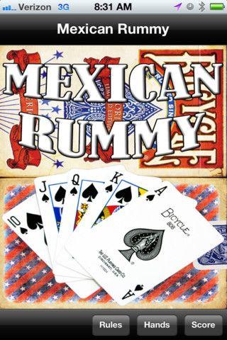 Mexican Rummy App Rules Amp Score Board Great Ideas