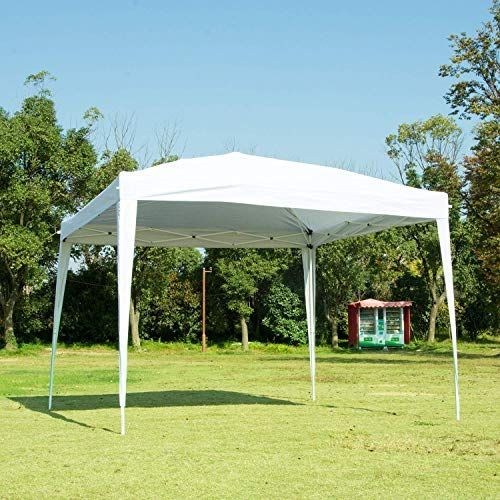 Amazing Offer On Nsdirect Canopy Tent Ez Pop Up Patio Outdoor Portable Party Tent Carrying Case Bag Adjustable Folding Gazebo Pavilion Wedding Patio Shelter 10 In 2020 Canopy Tent