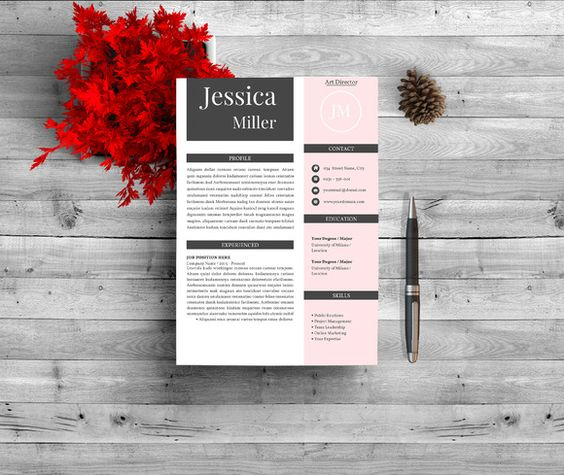 151 best Resume Template Word images on Pinterest Resume fonts - professional resume fonts